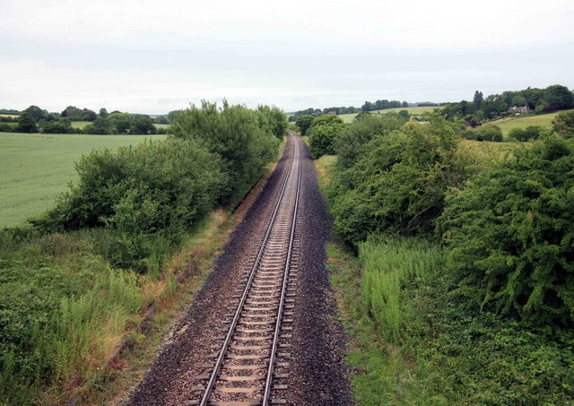 Waterloo to Exeter Railway nr West Hatch