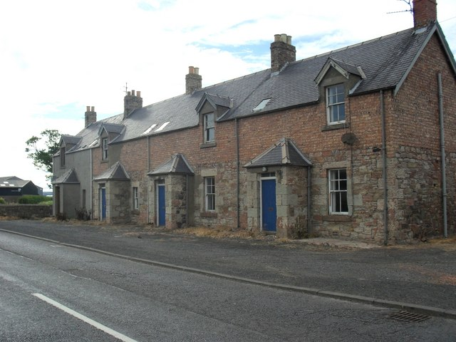 Houses undergoing renovation
