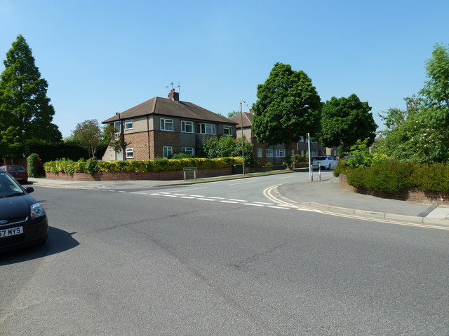 Junction of  Transmere Road and Shepperton Road