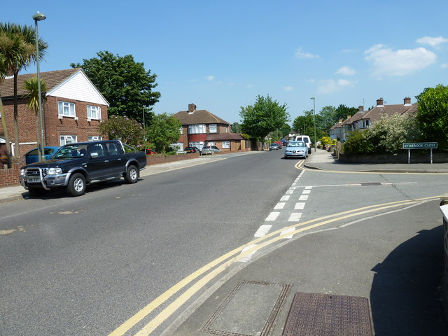 Junction of Shepperton Road and Kydbrook Close