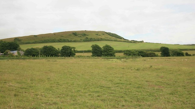 Linton Hill from the Swannery pathway