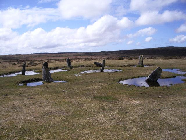 The Nine stones , stone circle