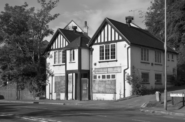 Vacant building on the Godstone Road