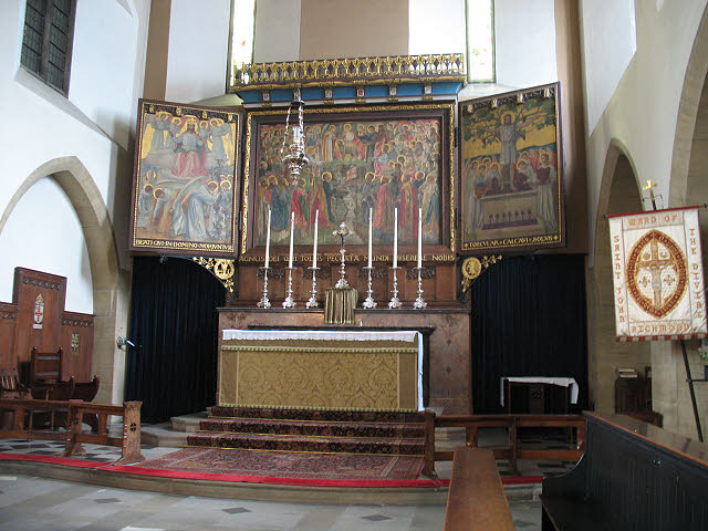 High Altar of the church of St John the Divine