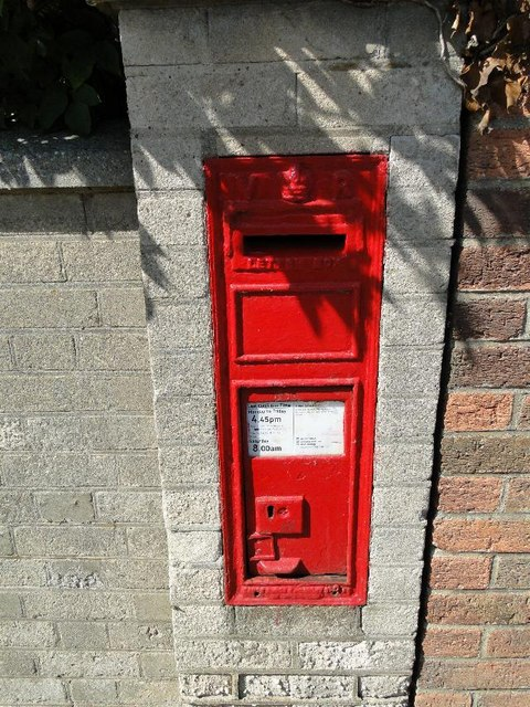 Victorian Postbox at Ormesby St Michael, Norfolk