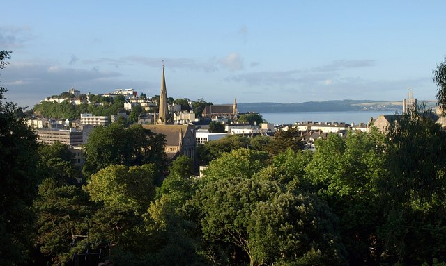 Torquay from Ash Hill Road