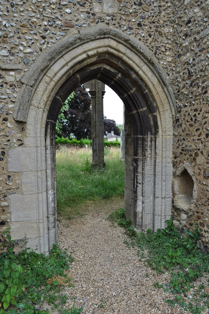 Doorway at St Andrews