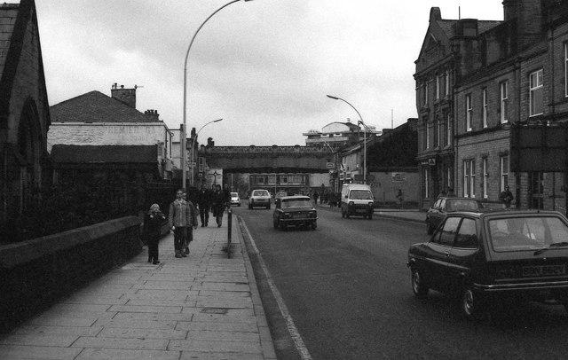 Yorkshire Street in Burnley