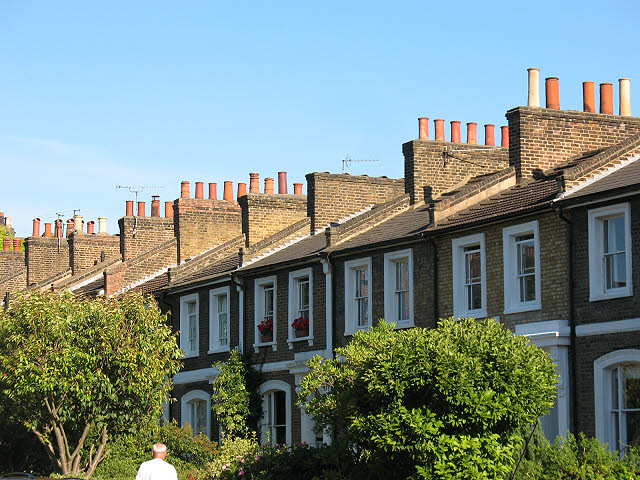 Chimneys on Ashburnham Grove