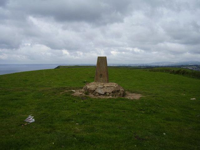 The Trig Point on Pencarrow Head