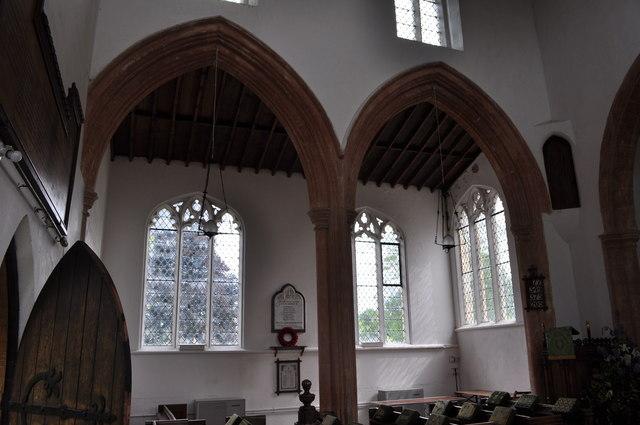 Inside St Andrew's Church