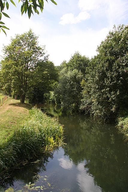 River Stour at Cavendish Mill