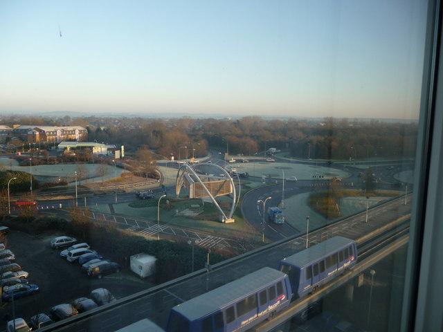Longbridge Way Roundabout, Gatwick