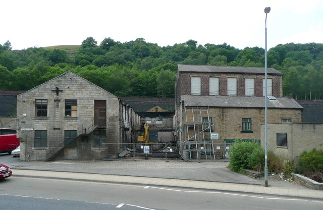 Industrial Buildings, Foundry Street, Todmorden