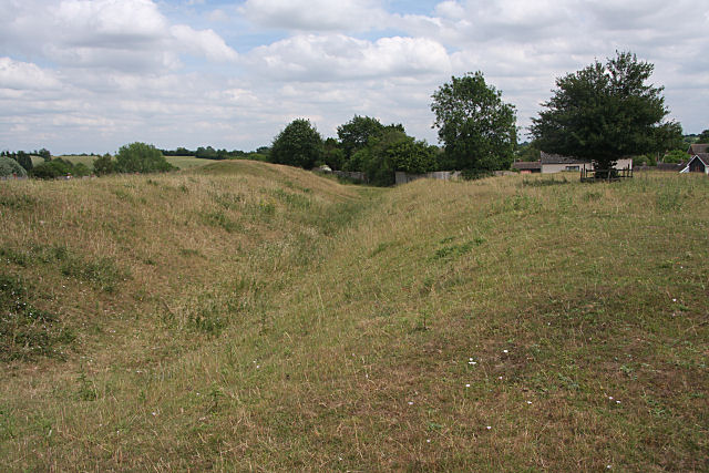 Defensive ditch at Clare Common
