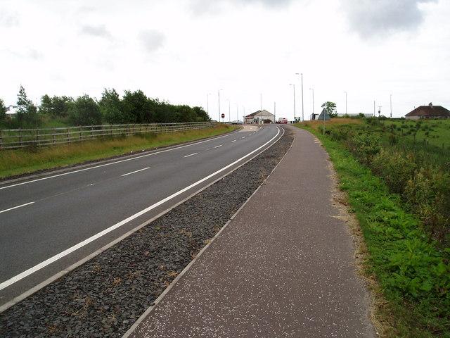 A77 at Fenwick