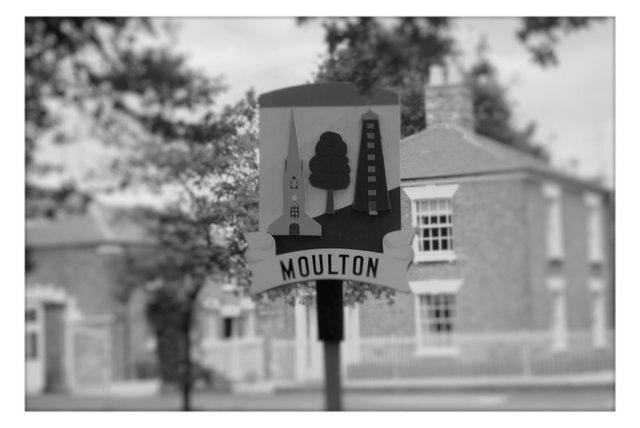 Moulton Village Sign
