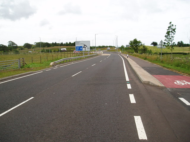 A77 at Fenwick