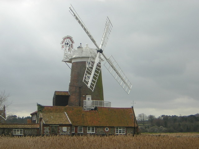 Cley-next-the-Sea: the windmill