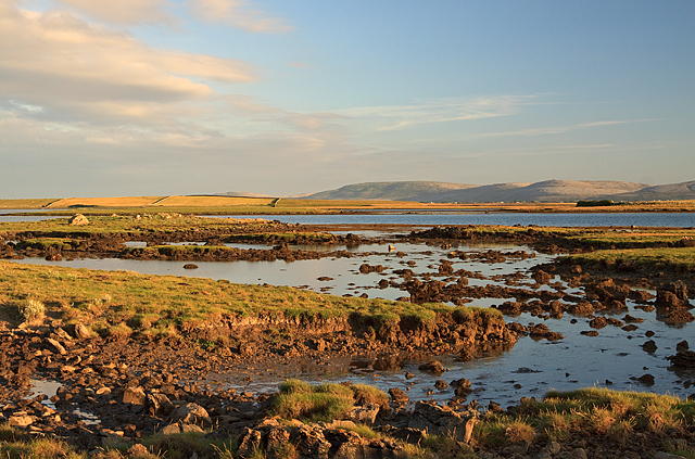 Galway Bay from the road to Tawin Island