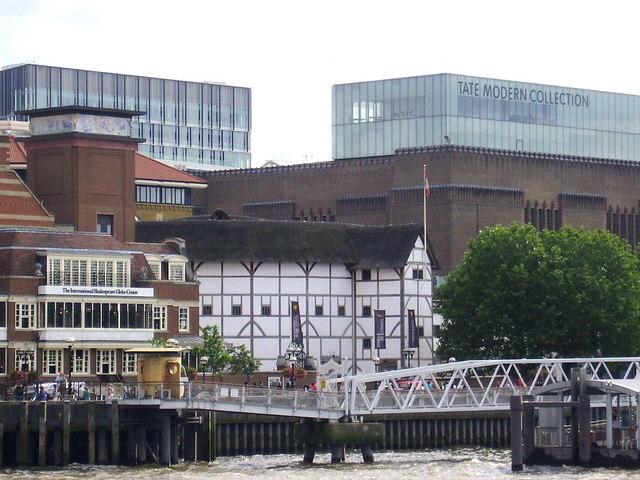 The Globe and Tate Modern, London