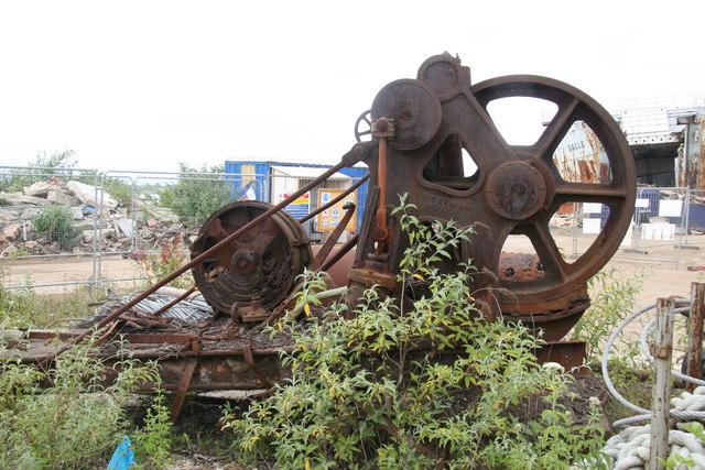 Pound's scrapyard, Tipner