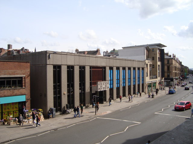 Hillhead Library, Byres Road, Glasgow
