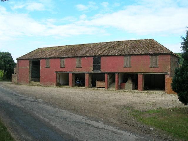 Farm Buildings, Low Cowlam