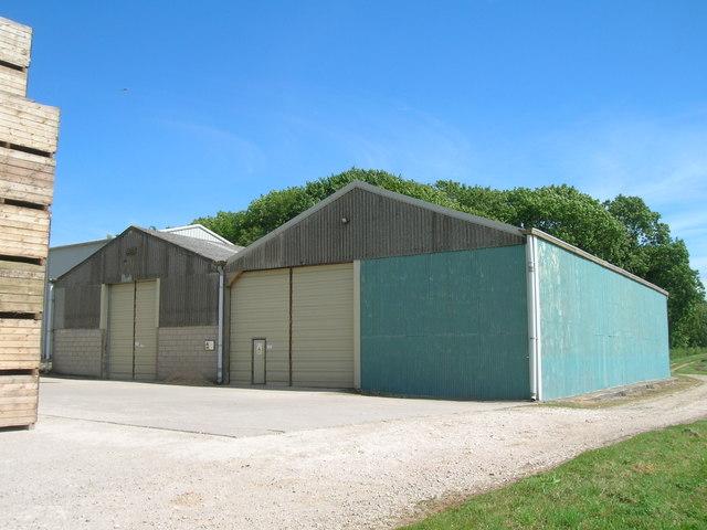 Farm Buildings, Squirrel Hall Farm