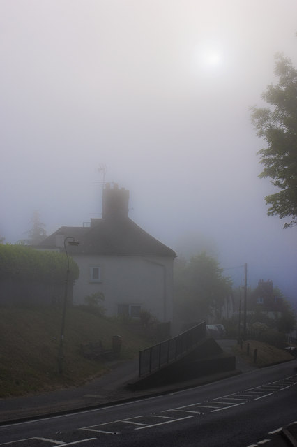 Misty Morning in Bletchingley
