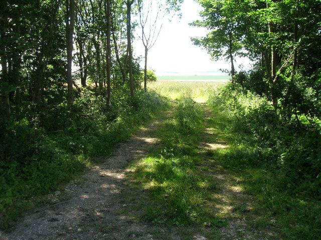 Farm track off the B1253