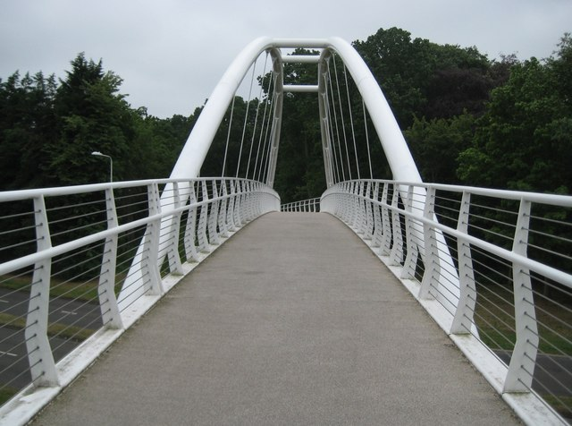 Easthampstead: Mill Lane Footbridge
