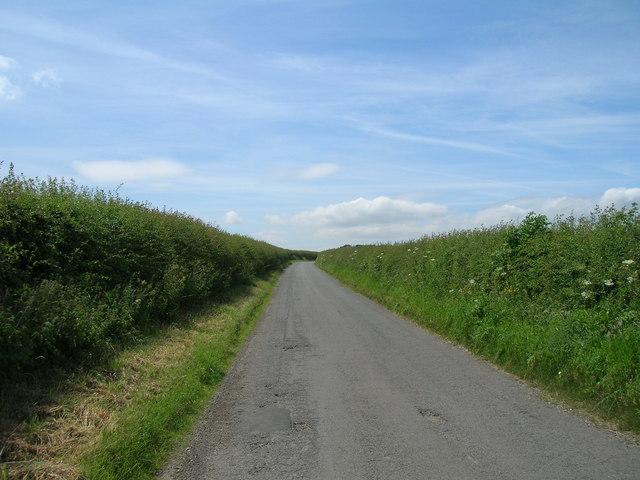 Salents Lane towards Wharram le Street