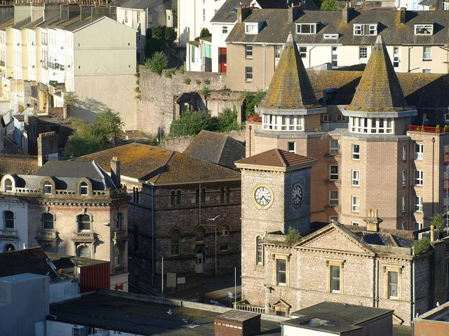 Old Town Hall and Tor Haven, Torquay