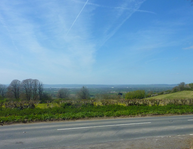 view from Yercombe Lodge