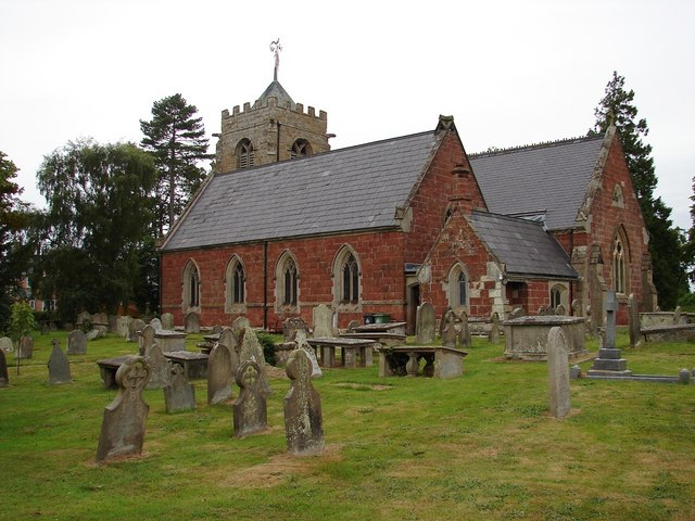 St Peters Church and Churchyard, Myddle