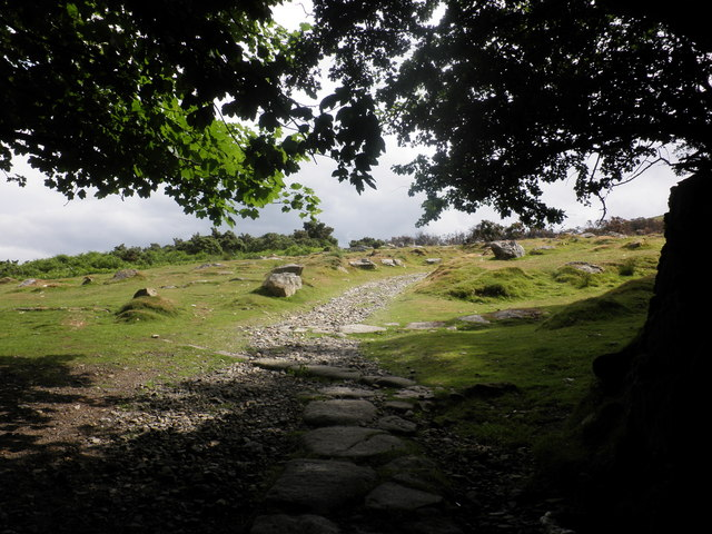 Path to Belstone Common
