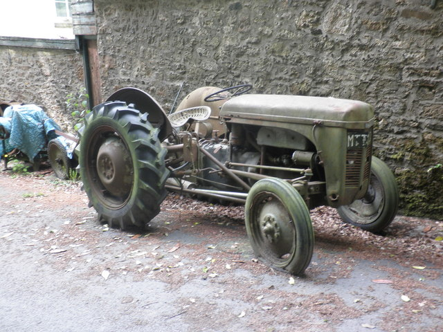 Old Ferguson tractor, Belstone