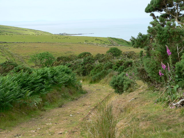Moorland track above Beacharr
