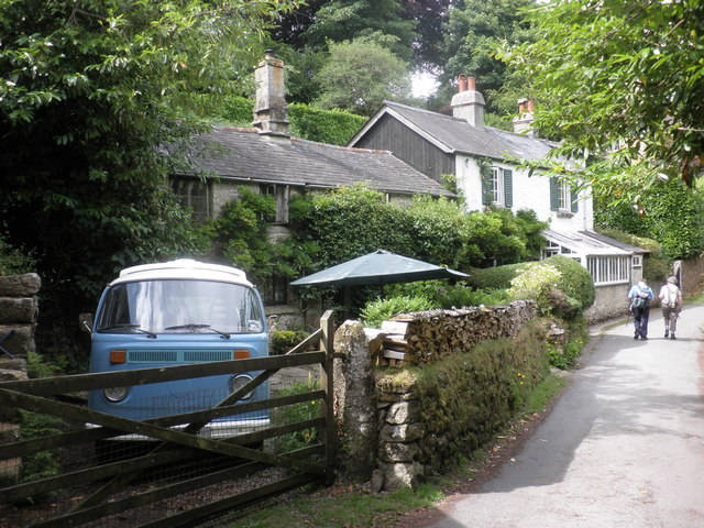 Cottages, near Belstone