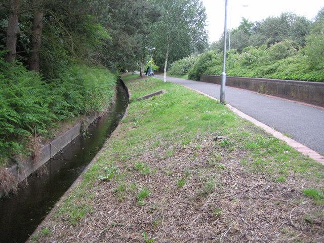 Bull Brook in Forest Park, Bracknell