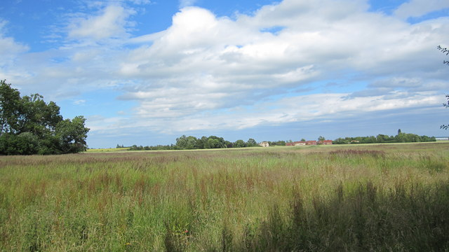 Cawthorpe seen from Bourne Woods
