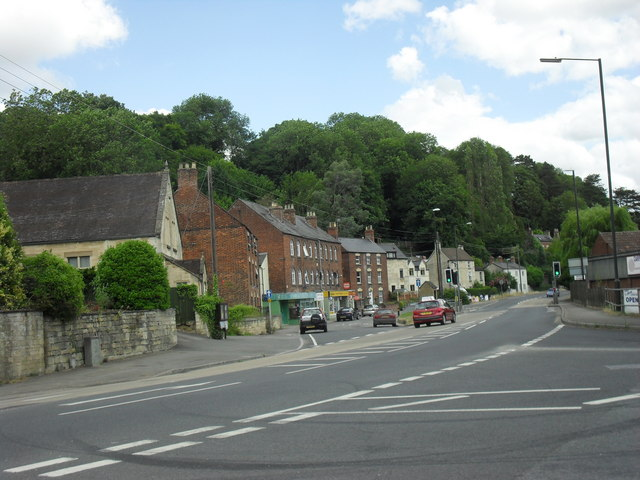 The A419 through Brimscombe