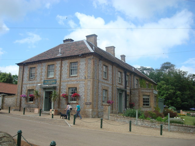The Victoria public house, Holkham