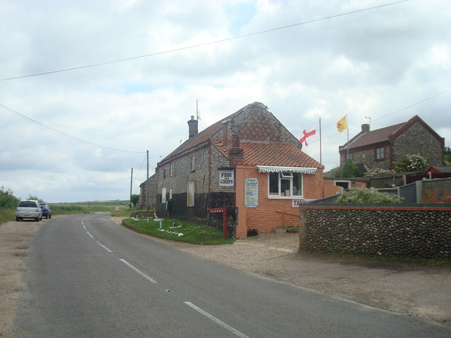 Fish and chip shop, Salthouse