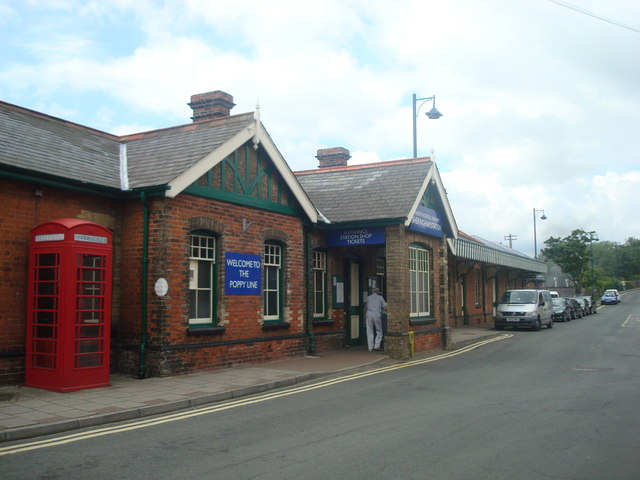 Sheringham Railway Station, North Norfolk Railway