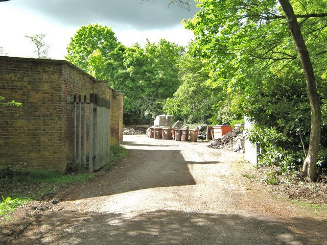 Entrance to the old walled garden