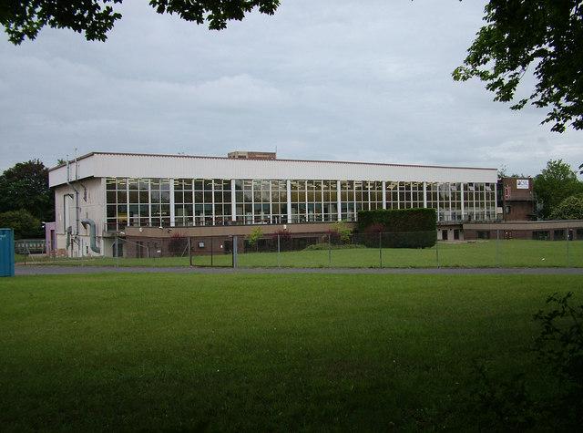 A classic 1960s factory block