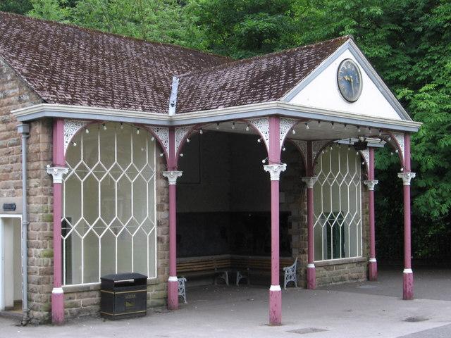 Matlock Bath - shelter on North Parade