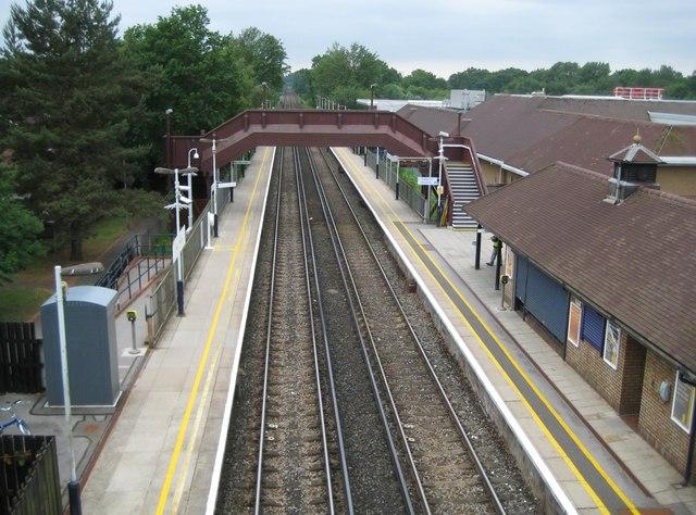 Martins Heron railway station